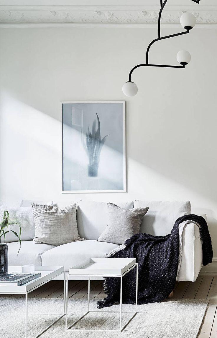 Fresh and cozy home - via Coco Lapine Design | Living room & Cozy ...
