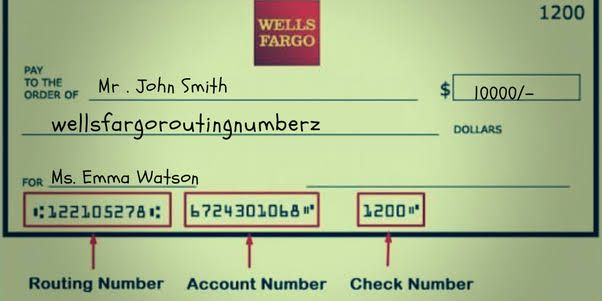 What's Wells Fargo Routing Number California And Others