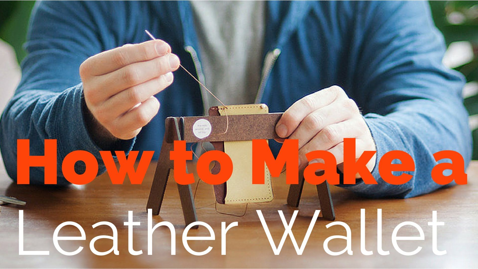 DIY: How to Make a Leather Wallet