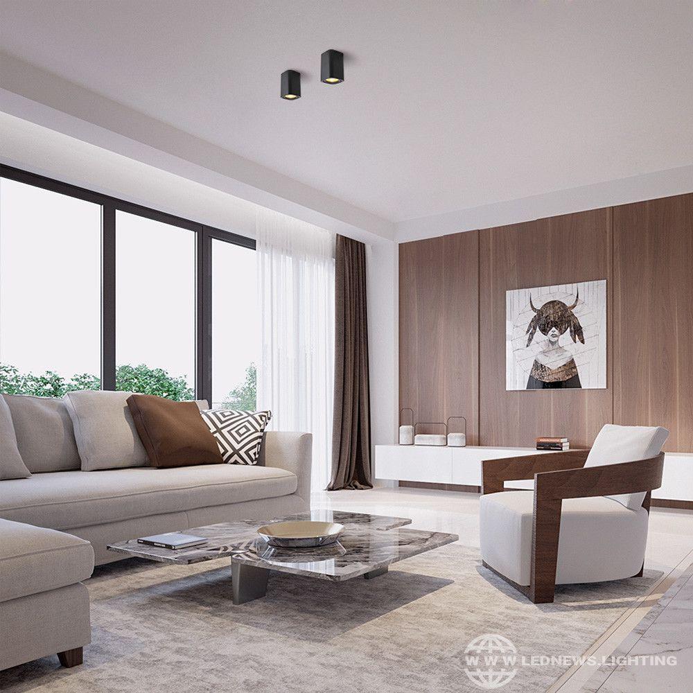 41 11 Led Surface Mounted Cube Ceiling Downlight For Room Corridor Hallway Design Spot Light In 2021 Living Room Lighting Design Hallway Design Living Room Lighting
