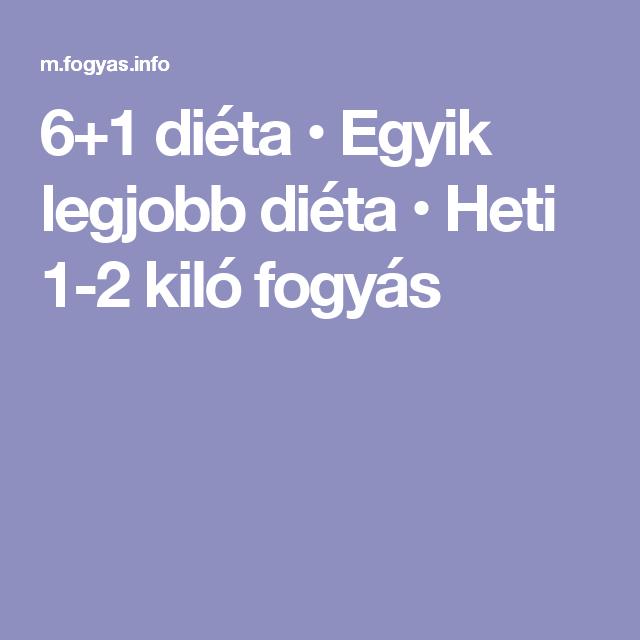 6+1 diéta