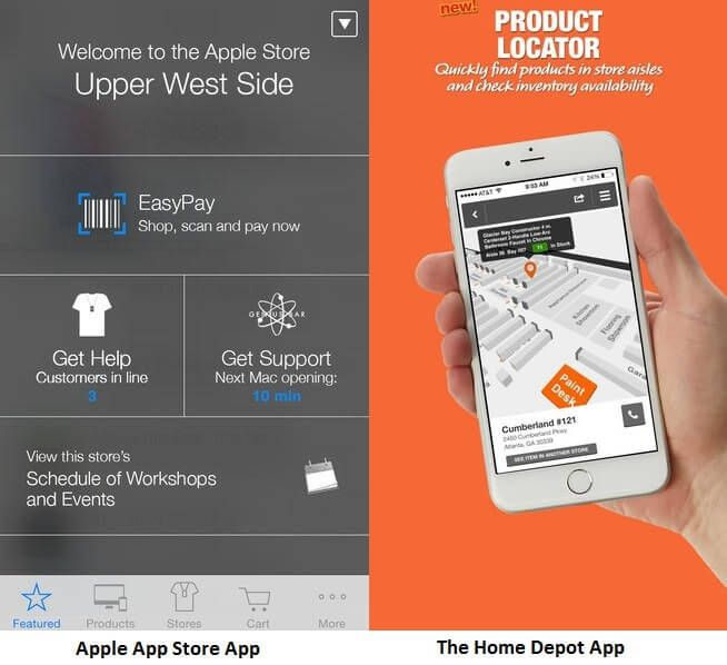 Improving shopping experience with in store shopping apps real world in store shopping apps i love the lowes product locatorstore map feature gumiabroncs Choice Image