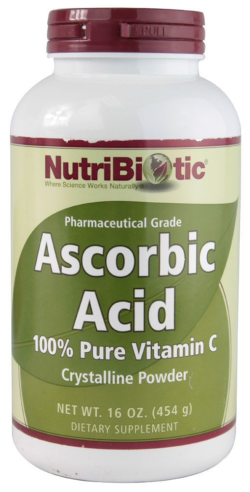 Nutribiotic Ascorbic Acid 100 Pure Vitamin C Powder Mix In Very Ripe Bananas Along With Citric To Magically Aid Digestion