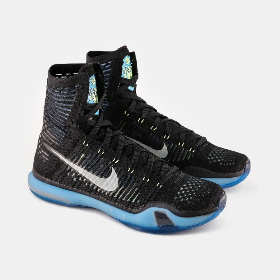 pick up 541e2 58871 wholesale nike kobe x elite black blue lagoon volt dbea1 c534d