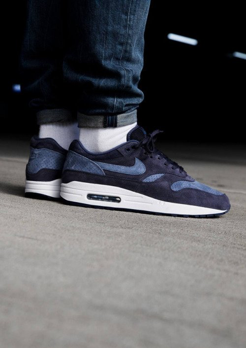 new style 8dd9b ba2d0 Nike Air Max 1 Premium Neutral Indigo  875844-501 (via...  sneakerscartel.comnike-air-max-1… sneakers