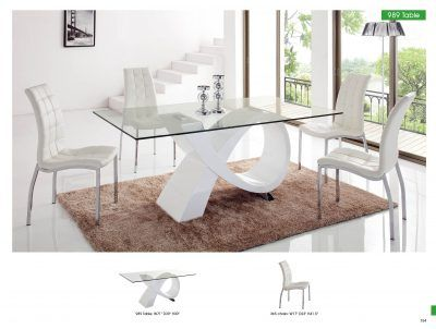 Dining Room Furniture Modern Sets 989 Table And 365 Chair For