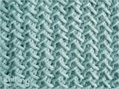 Fancy Herringbone | Knitting Stitch Patterns | Stuff | Pinterest ...