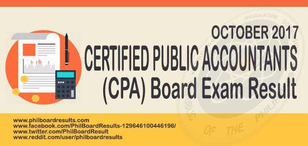 Top Performing Schools October 2017 Cpa Accountants Board Exam