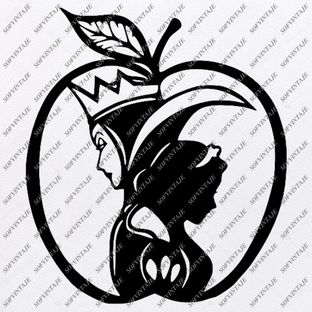 Snow White Svg File Disney Princess Svg Princess Snow White Svg Evil Queen Svg Evil Queen Clipart Vector Graphic For Cricut For Sihouette Svg Disney Silhouette Art Disney Silhouettes Disney Silhouette