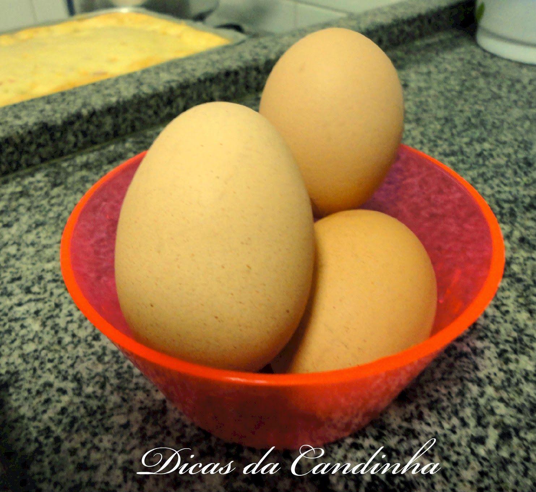 DICAS DA CANDINHA: Ovo cozido na medida certa