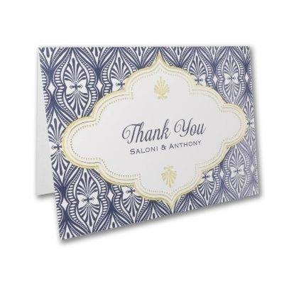 Moroccan Glam - Thank You Note, available at Persnickety Invitation