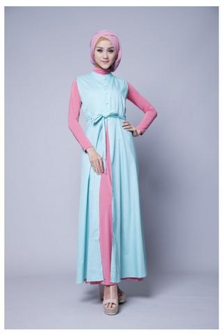 Contoh Baju Muslim Zoya Khas Remaja Masa Kini Di Tahun