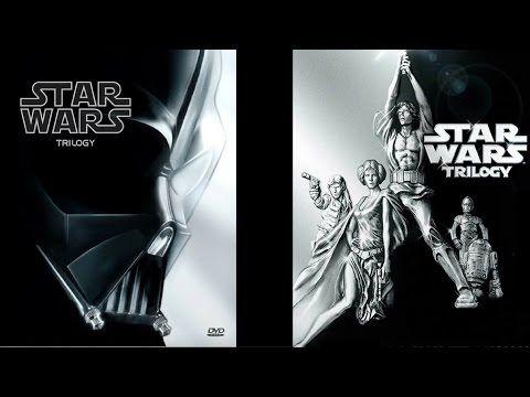 Star Wars The Original Trilogy Episodes Iv Vi Dvd Box Set Collection Review Youtube Episode Iv Original Trilogy Boxset