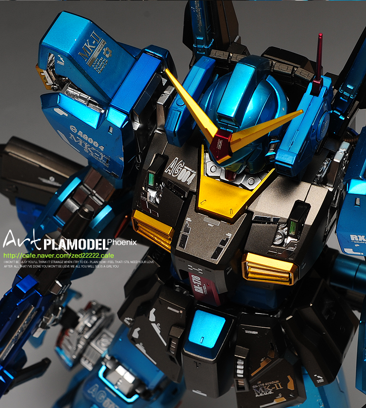 PG MK-II summer coloring special by Artman (Korea)  . Full customized coloring  . Remodeled the arms,   http://cafe.naver.com/zed22222.cafe (official cafe)  http://signaturedition.com