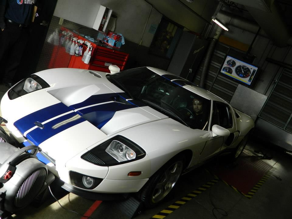 The Uti Avondale Ford Gt On The Dyno The Ford Accelerated Credential Training Fact Elective Combines The Recognized Quality Of Uti Automotive Programs