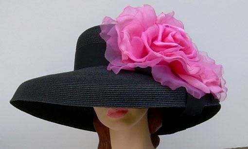 XL Black Lamp/ XL Pink Rose