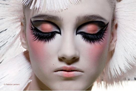 Beautiful costume makeup