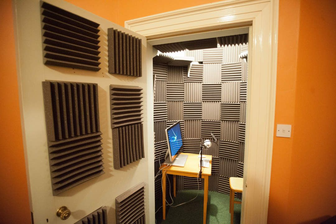 How to build a vocal booth in a closet recording booth