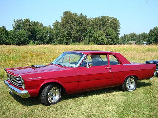 1965 Ford Custom 2 Door Sedan Ford Galaxie Mercury Cars
