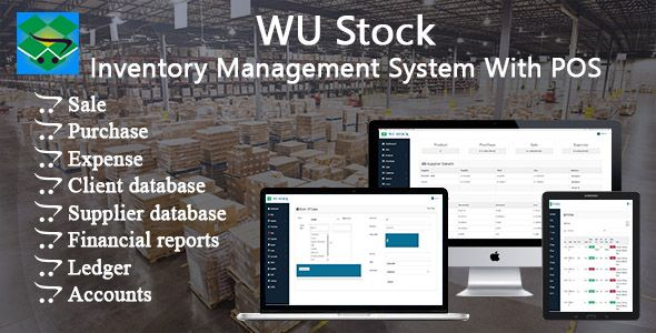 Wu Stock Inventory Management System With Pos Inventory Management Invoice Management Management