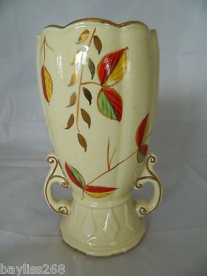 Arthur Wood Vintage Vase Attractive Design Crackle Glaze Hand