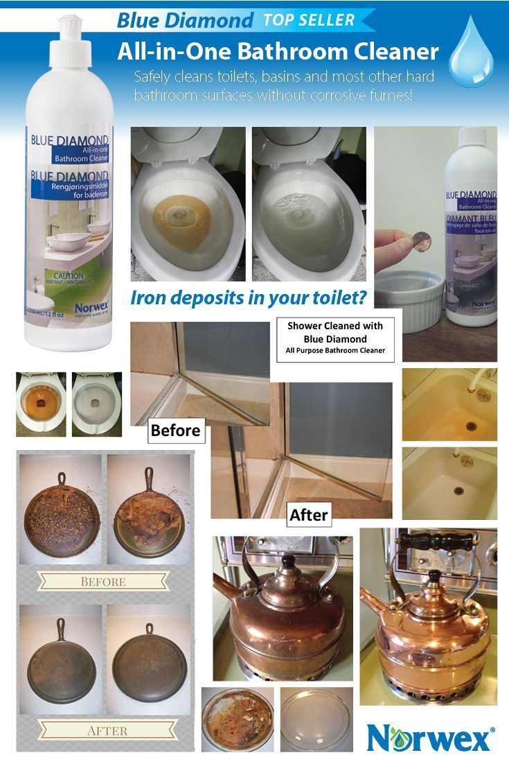 All purpose bathroom cleaner - Natural Cleaning Products