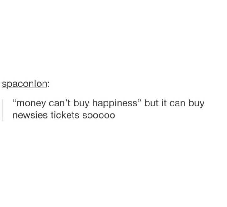 I'M REALLY REALLY HOPING THAT I CAN BUY HAPPINESS