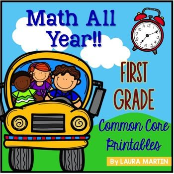 First Grade Math | Common cores, Math and Activities