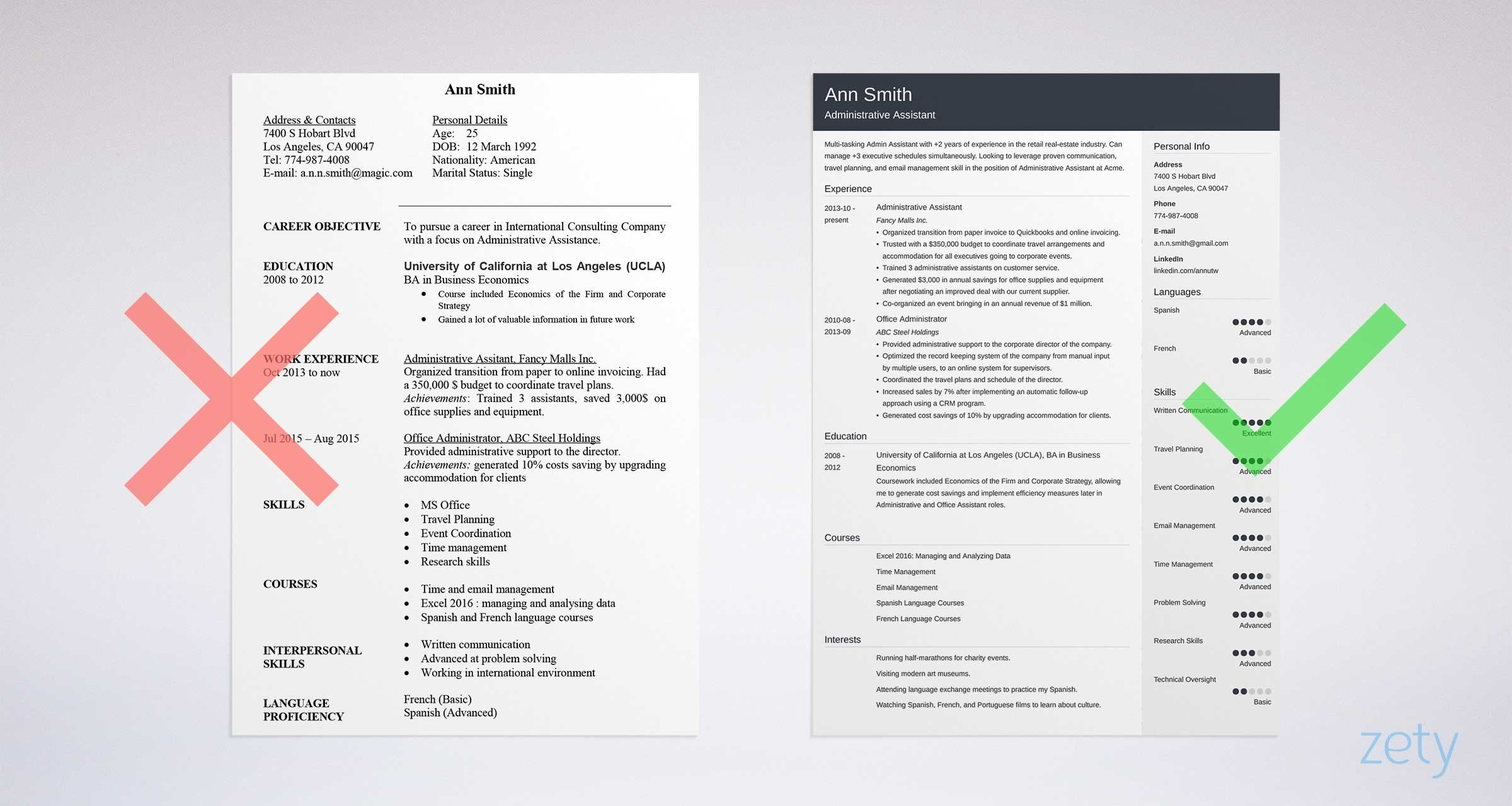27 Admin Assistant Cover Letter Resume Examples Sales Resume Examples Teacher Resume Examples
