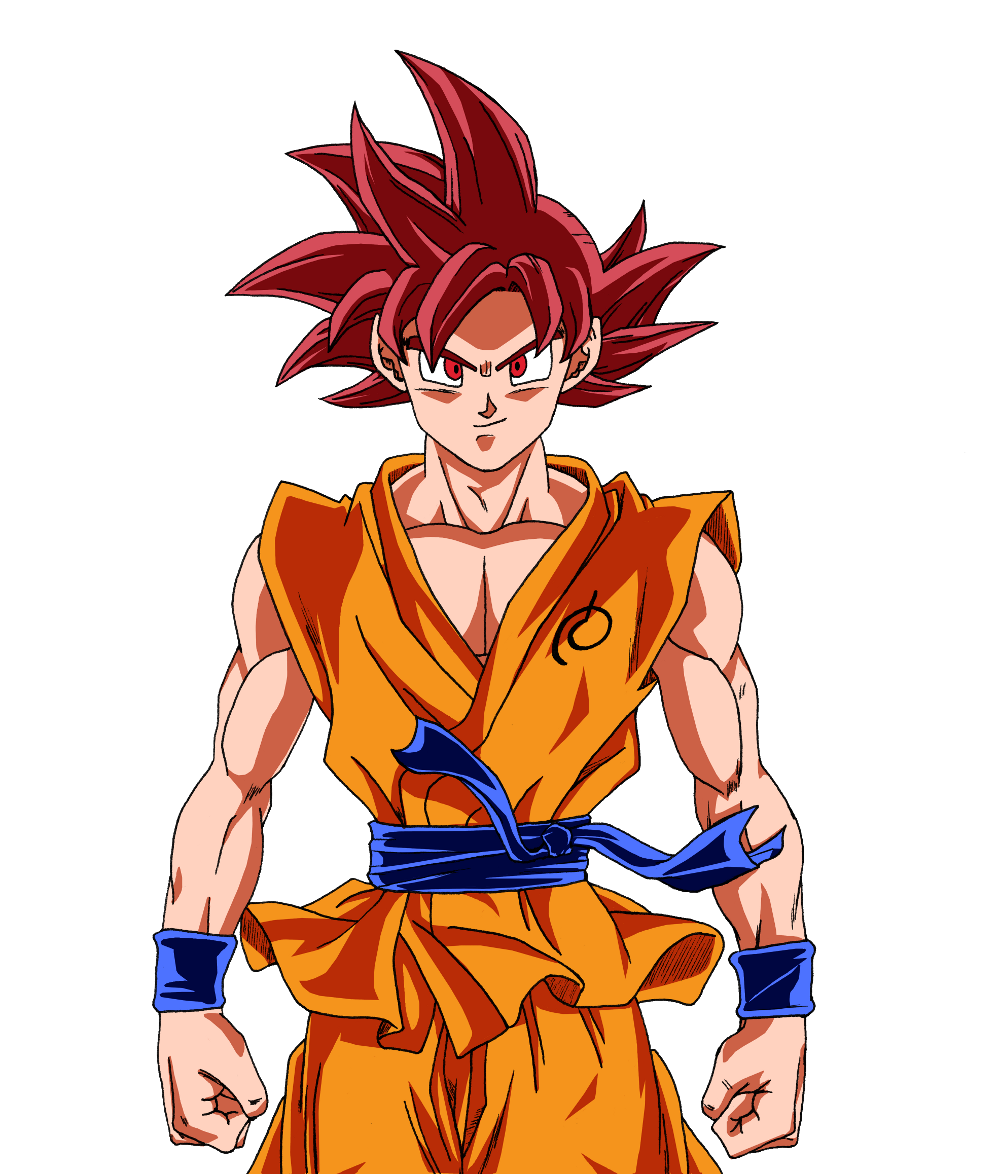 Super saiyan god goku dragon ball pinterest goku - Dragon ball z goku son ...