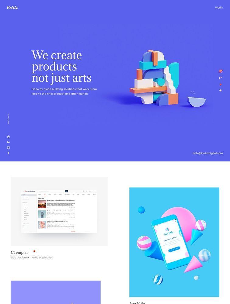 3199 Landing Page Design Inspiration - Lapa Ninja