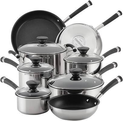 Top 10 Best Cookware Sets In 2020 Reviews The Best A Z In 2020 Pots And Pans Sets Stainless Steel Cookware Cookware Set