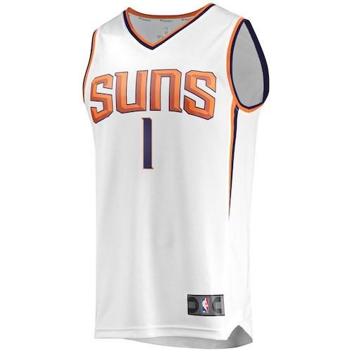 the best attitude a5c80 44bdc Devin Booker Phoenix Suns Fanatics Branded Fast Break Jersey ...