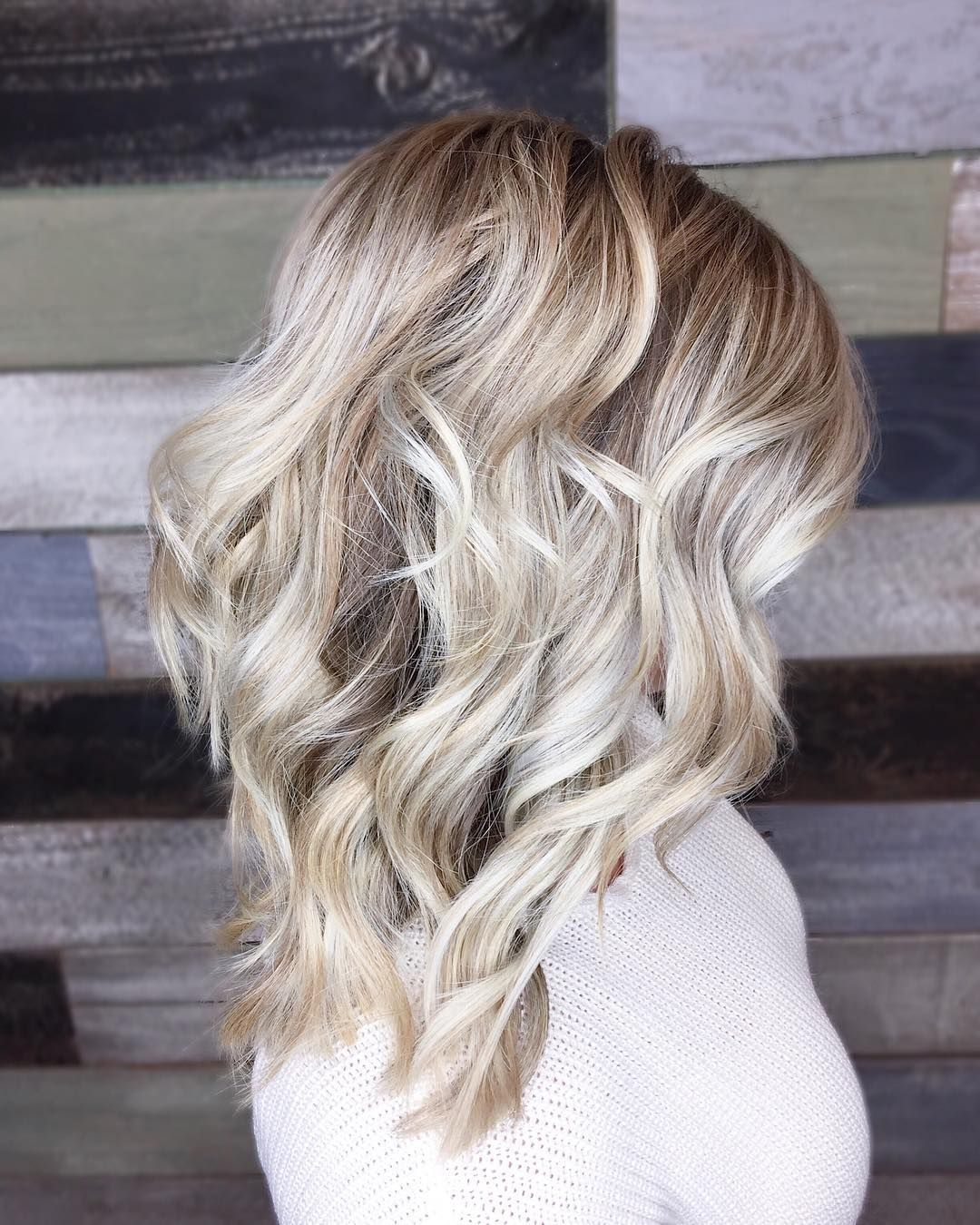 Blonde Balayage Blonde Hair Inspo Medium Length Medium Length