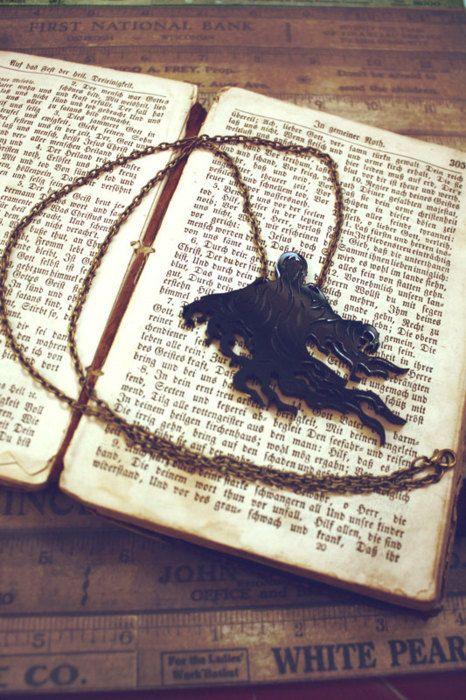Dementor Necklace Dementor S Kiss Harry Potter Crafts Harry Potter Love