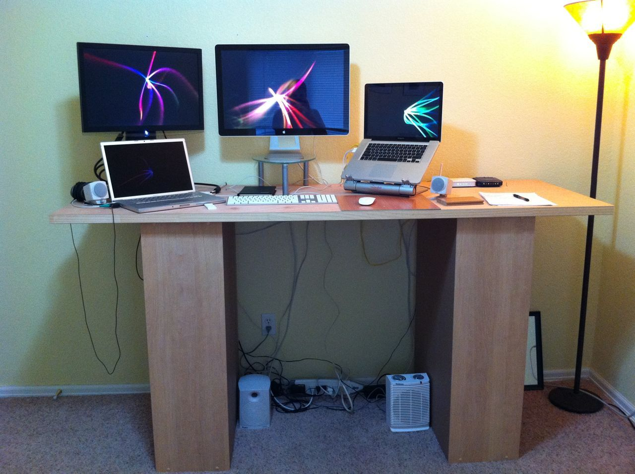 Sketch Of How To Make A Standing Desk