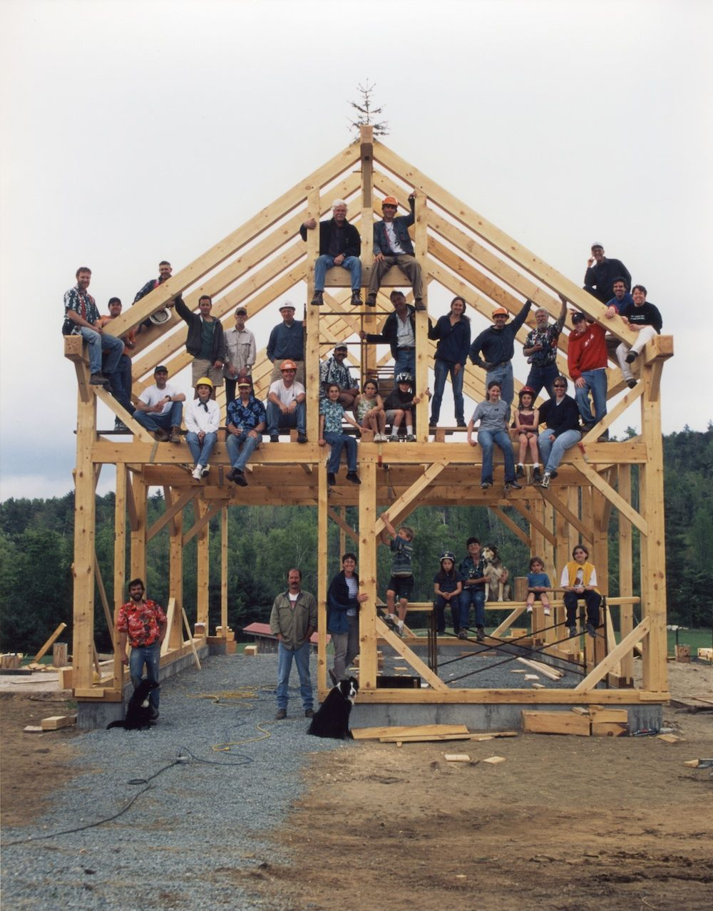 Pin de shannon tretsven en timber frame | Pinterest | Techos de ...