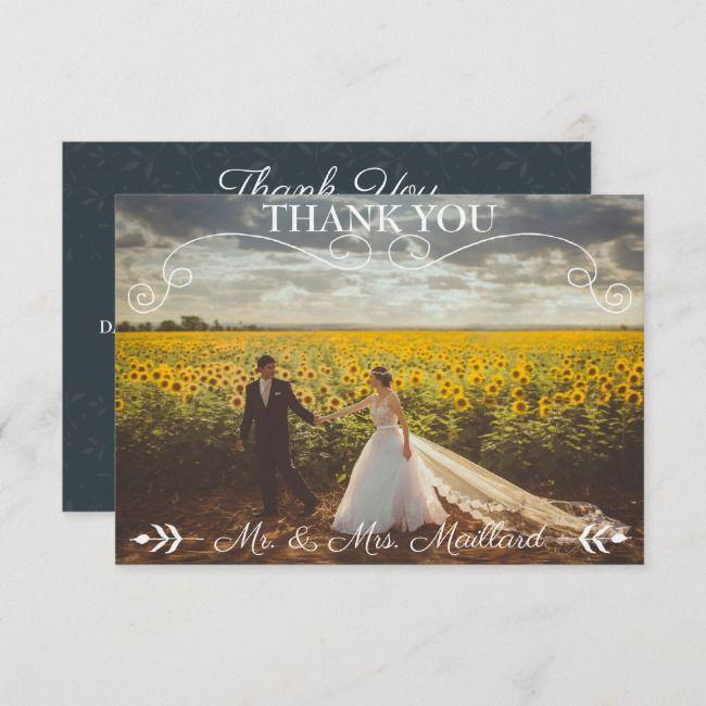 create your own flat thank you card  zazzle  custom