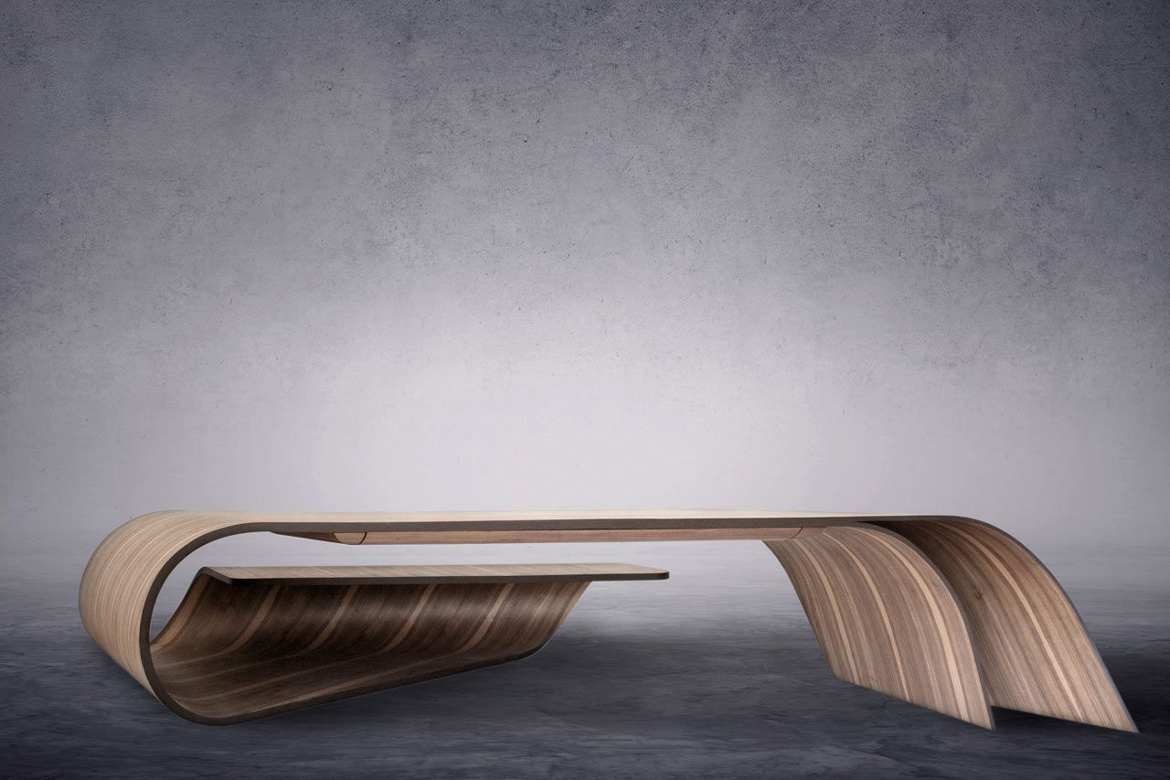 top 10 furniture companies. A Sculptural Desk That Pushes The Limits Of Wood - Design Milk Top 10 Furniture Companies