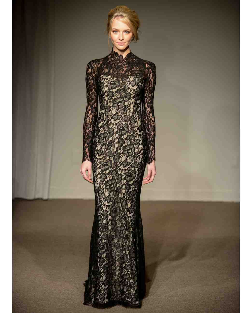 Form Fitting Wedding Gowns: Long-Sleeved Wedding Dresses We Love