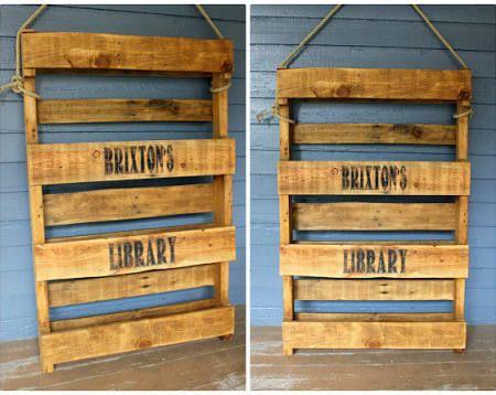pallet book storage - Google Search