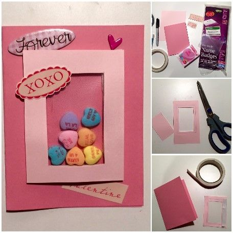 5 Min Craft Hacks Valentine S Day Shaker Card 365 Easy Diy