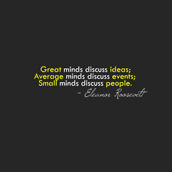 Inspiration Quote - Minds