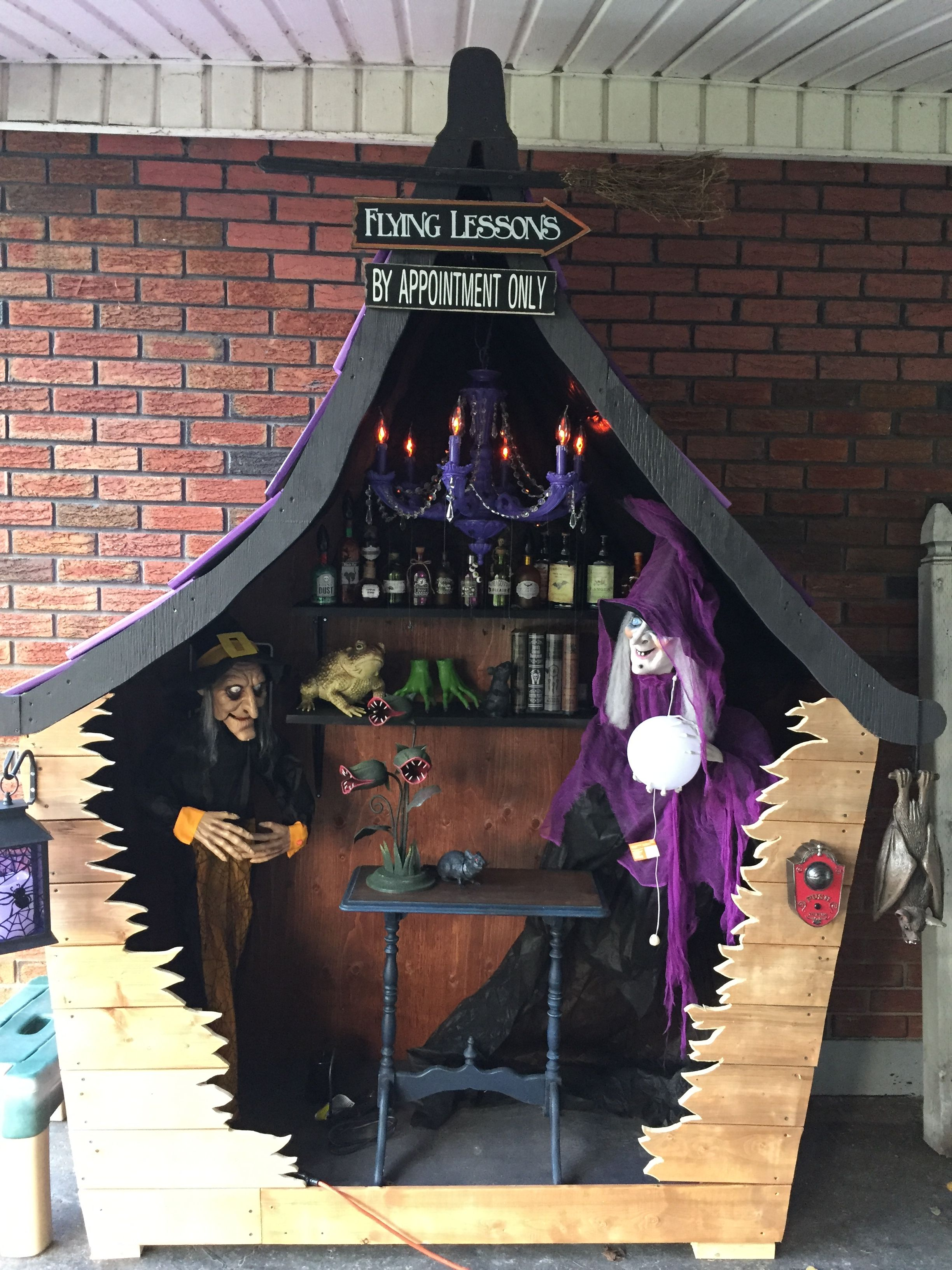 Halloween Decorations Ideas 2019 Pinterest My witch house. Inspiration from another one on Pinterest