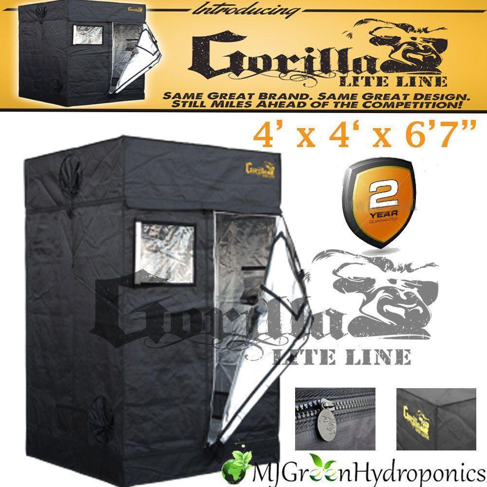 Gorilla Grow Tent LITE LINE Indoor Grow Tent 4u0027 x 4u0027 x 6u00277  sc 1 st  Pinterest & Gorilla Grow Tent LITE LINE Indoor Grow Tent 4u0027 x 4u0027 x 6u00277 | Grow tent