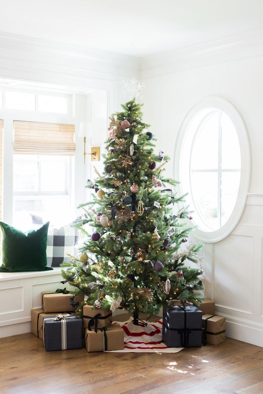 How We Decorate the Christmas Tree  Studio mcgee Christmas tree