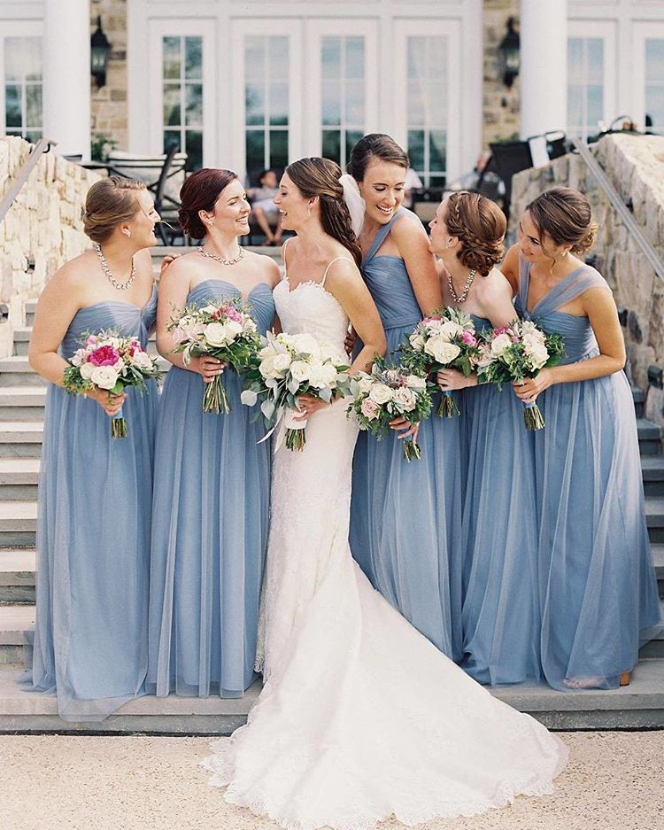 Wedding Dresses Gallery Dress Love On Instagram The Blue Color Palette Is So Beautifully Chic Double Tap Tag Your S Photo By