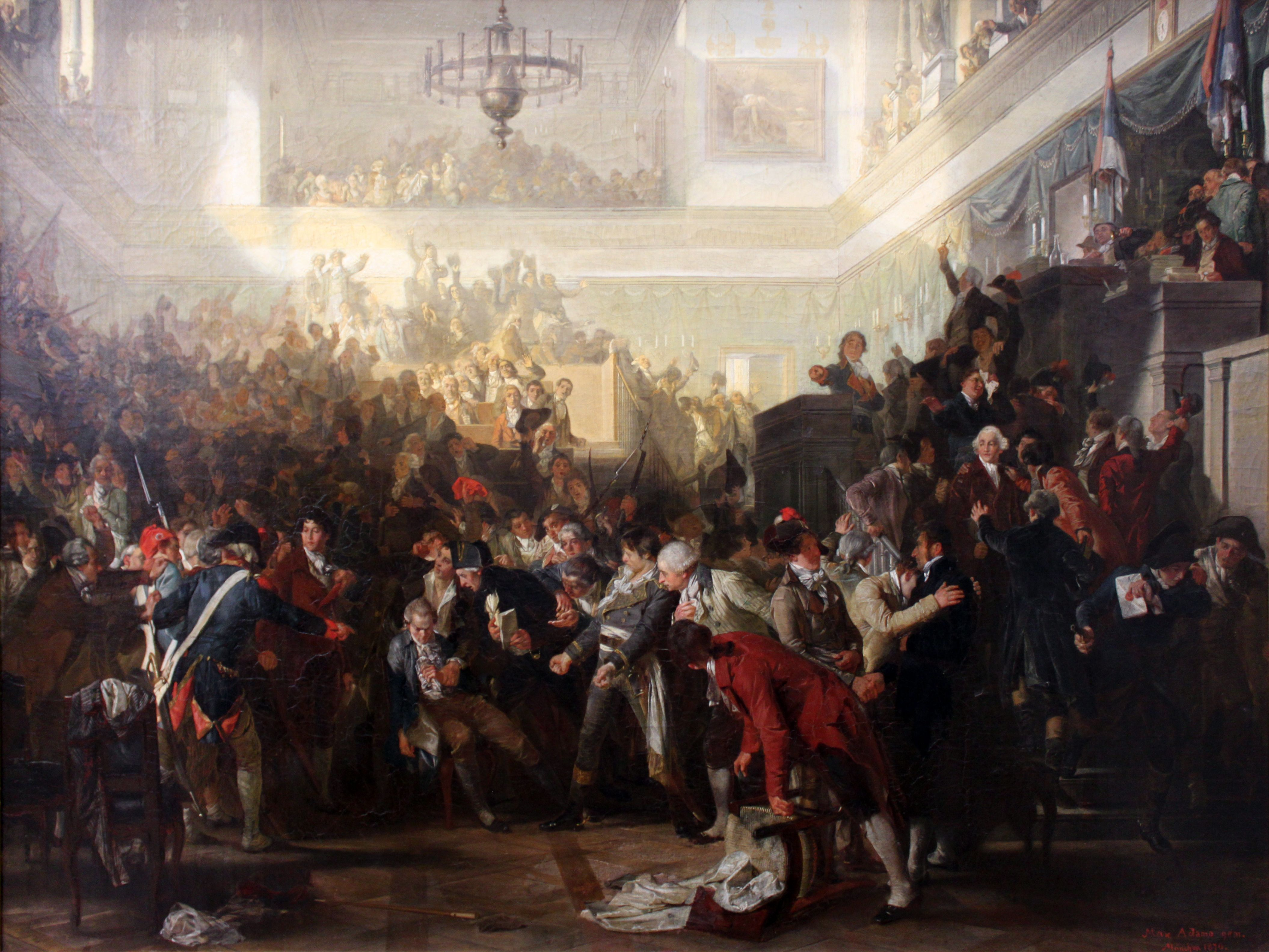 What event meant the Thermidorian coup in France? Causes, significance 10