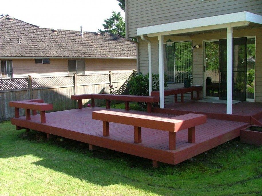 Image Result For Backyard Deck Designs