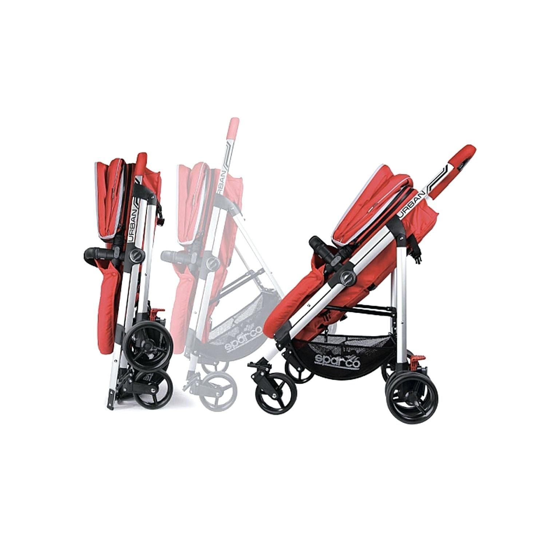 Baby Kinderwagen Liner Sparco Italien Urban Kinderwagen Grau Fan